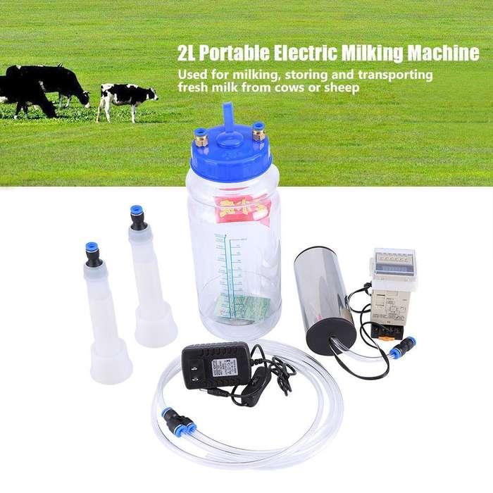 Dispositivo de ordeño eléctrico portátil para vacas oveja y cabras