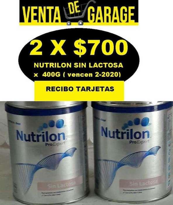 Leche Nutrilon sin Lactosa X 400g