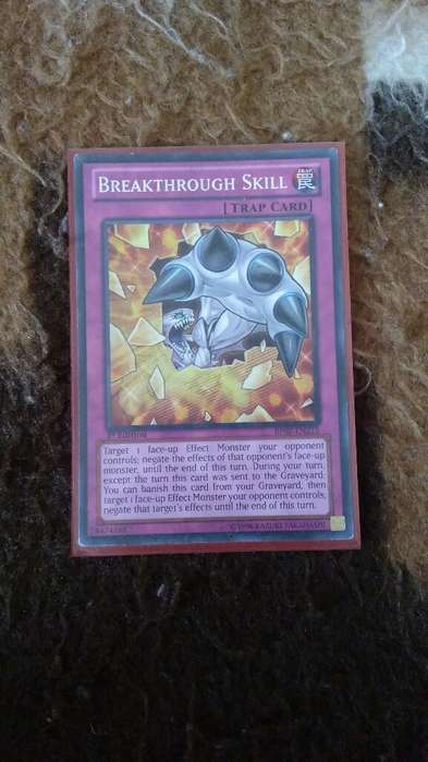 Breakthrough Skill Yugioh
