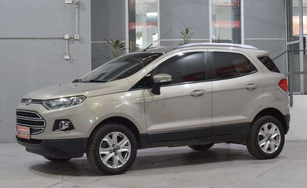 Ford Ecosport titanium 2.0l con gnc 2013 tope de gama!