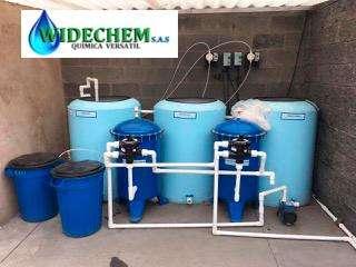 Planta de reciclaje de agua Lavaderos de Carros/Motos