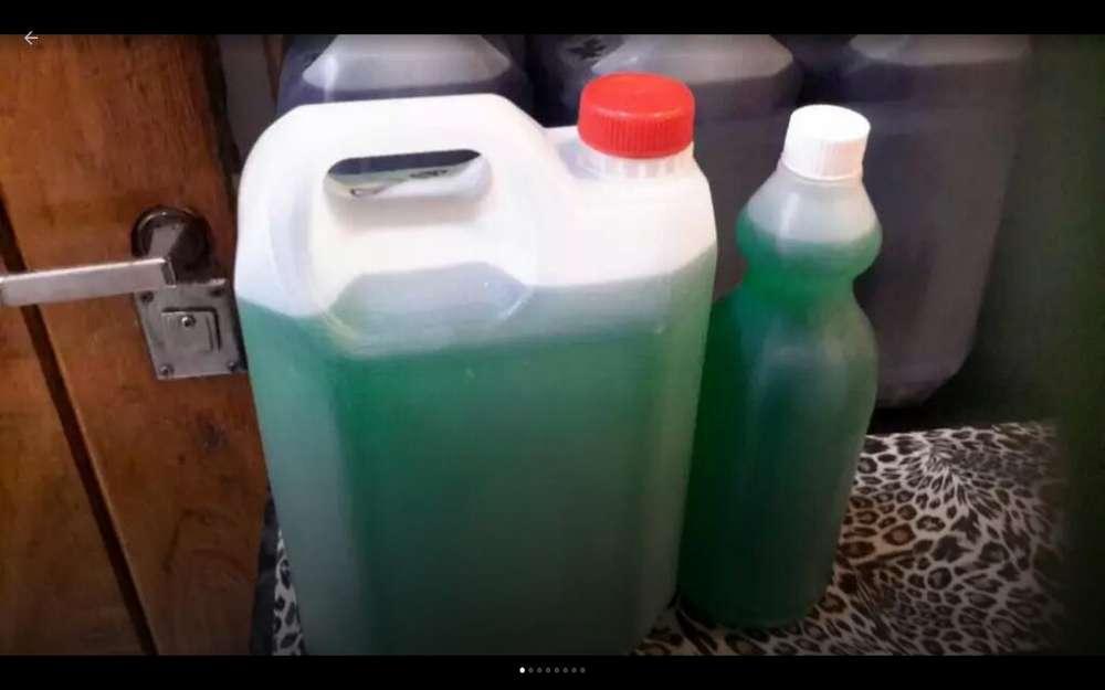 Jabon Liquido Ropa X 5 L Concentrado Exe