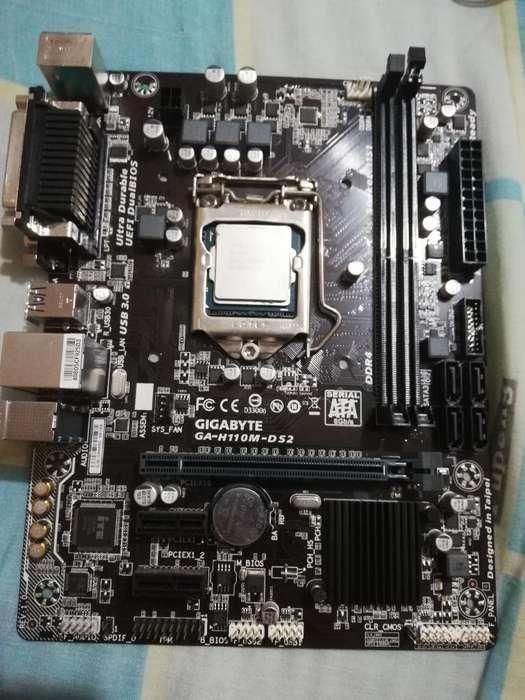 Placa Y Procesador Ga 110m Core I5 6400