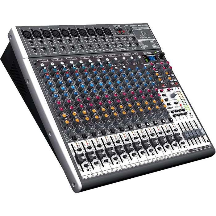 Consola Behringer X2442USB Mezclador audio