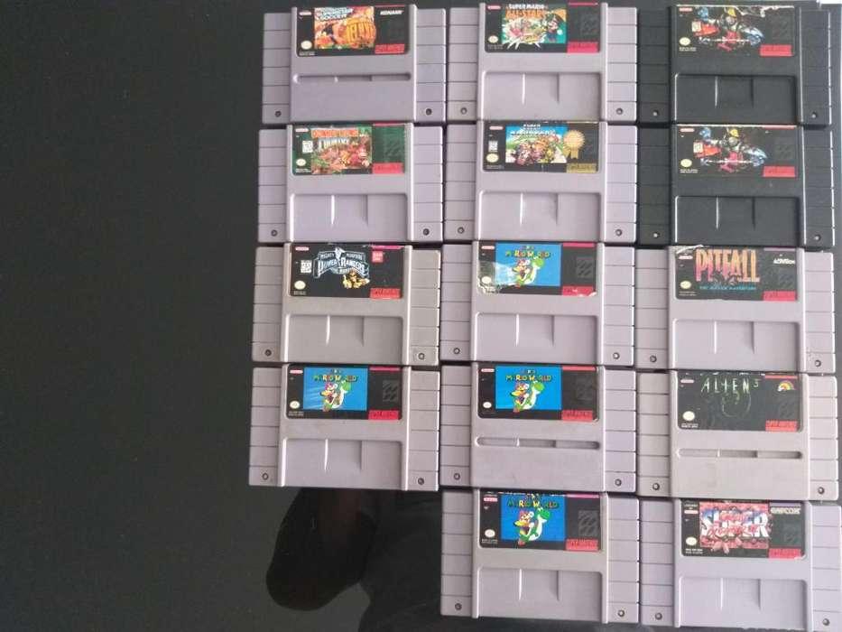 Vendo Juegos de Nes,snes,psp Y N64