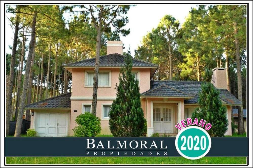 Ref: 8796 - Casa en alquiler, Pinamar Norte , Zona Aromos