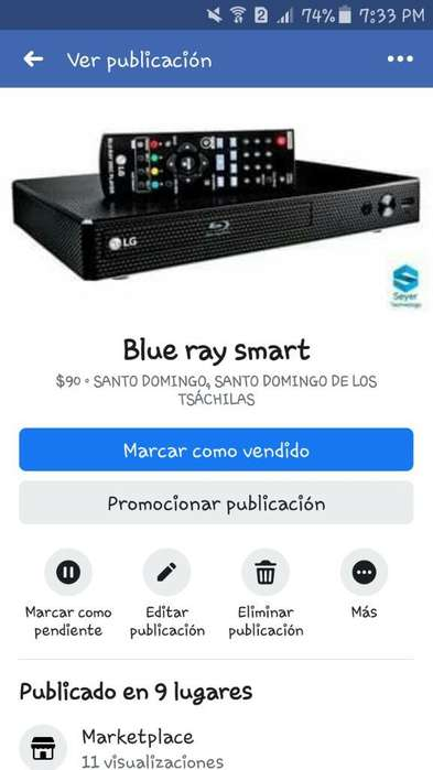 Blue Ray Smart