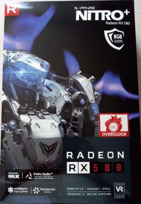 Tarjeta Radeon Rx 580 8gb Sapphire Nitro