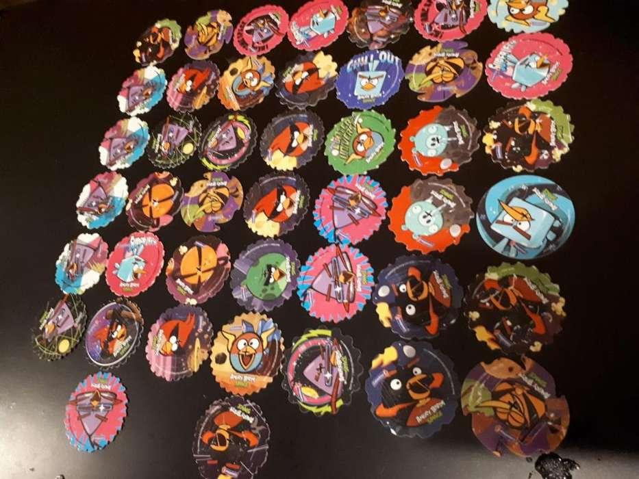 Tazos Spiner de Angry Birds