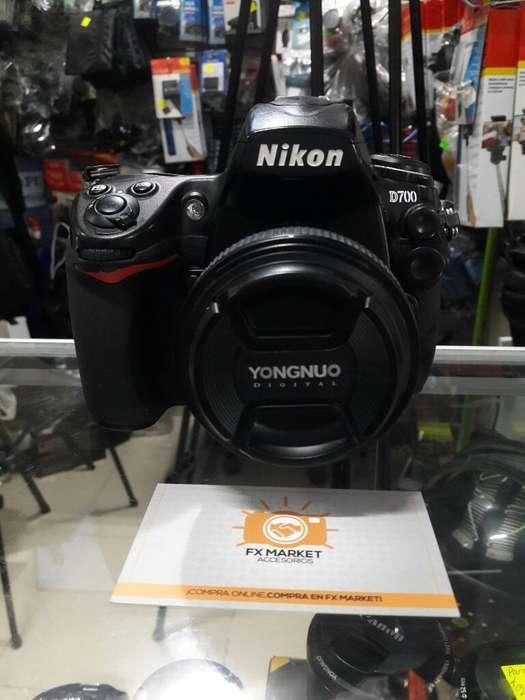 Canon 700d Full Frame Yn50mm Estuche