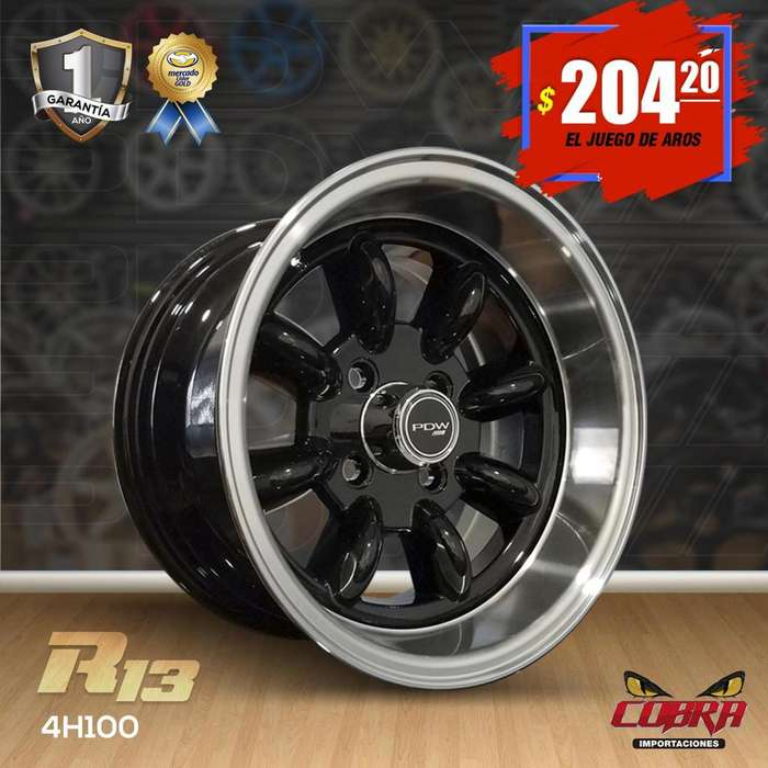 Aro Rin 13 JUEGO* Chevrolet Corsa Kiapicanto I10 Aveo Spark Sentra