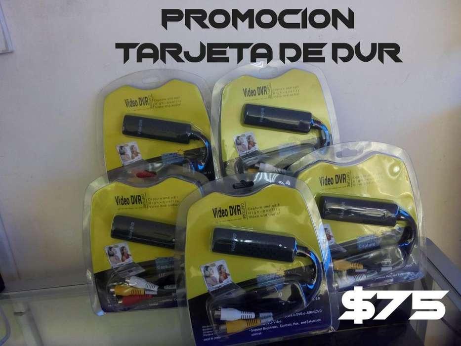 PROMOCION TARJETAS DE VIDEO DVR RCA SVIDEO A USB 2.0