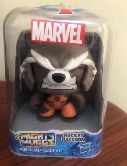 Hasbro Mighty Muggs Marvel Rocket Raccoo nuevo sellado fabrica
