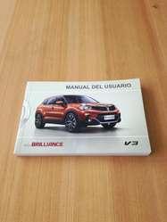 Manual de usuario carro Brilliance V3