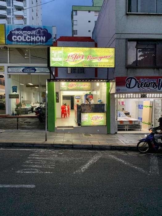Vendo mobiliario de negocio de comidas rapidas