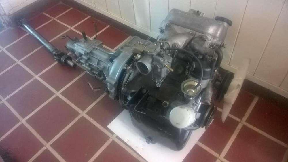 Motor Y Caja Mitsubishi L100. Mecanica Completa