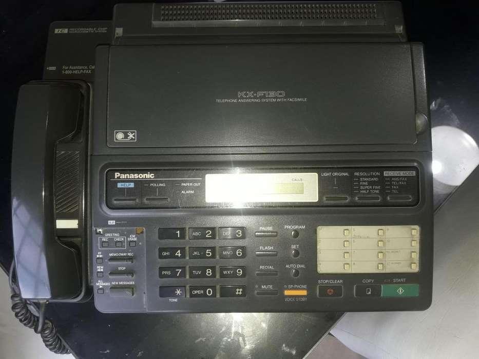 TELEFONO FAX PANASONIC KXF130