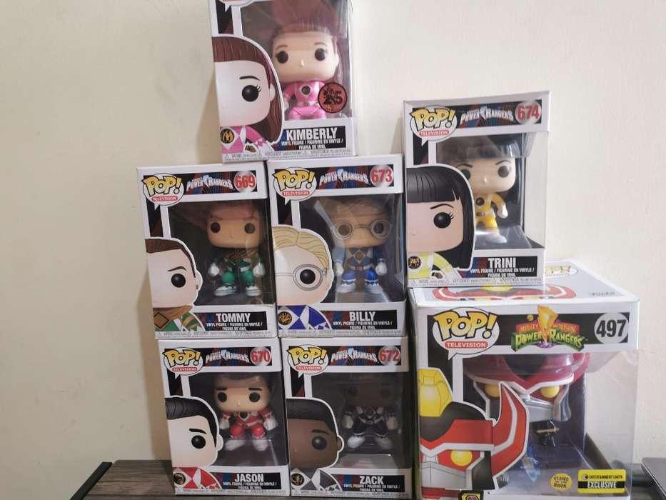 Funko Pop Power Rangers Colección Comple