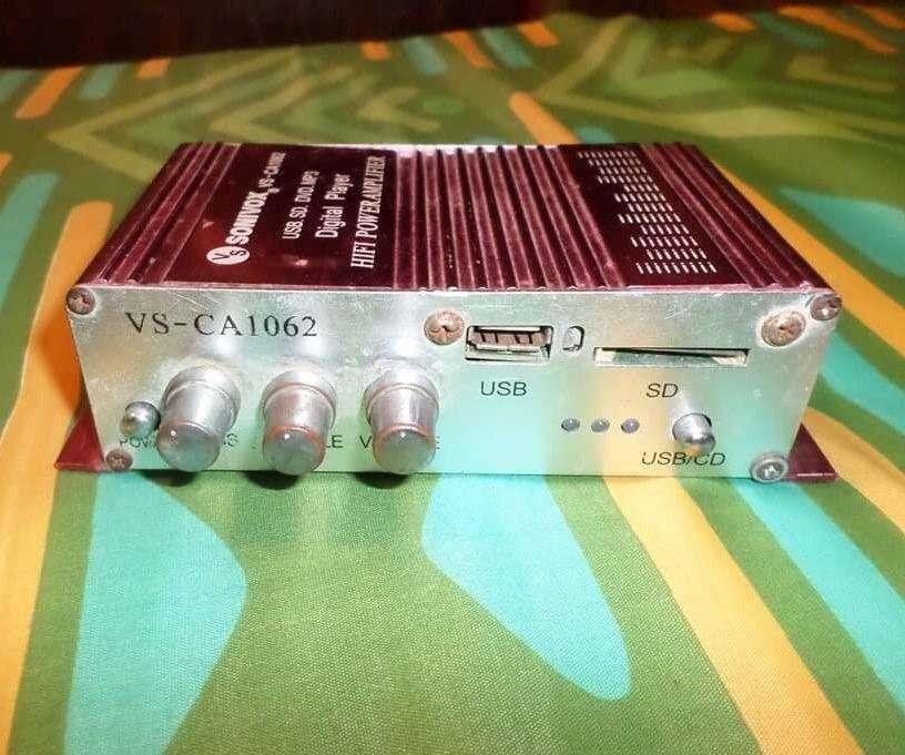 Mini Amplificador de Poder Sonivox