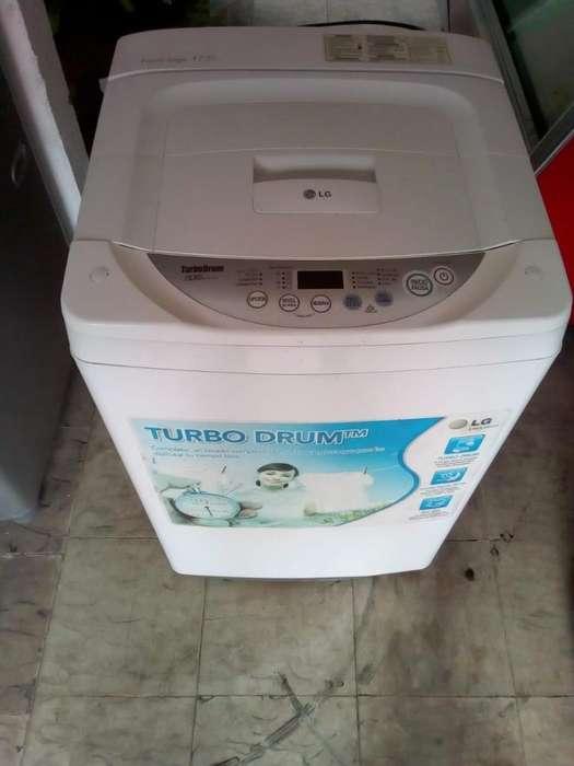 Lavadora Lg Turbo Droom 19 Libras