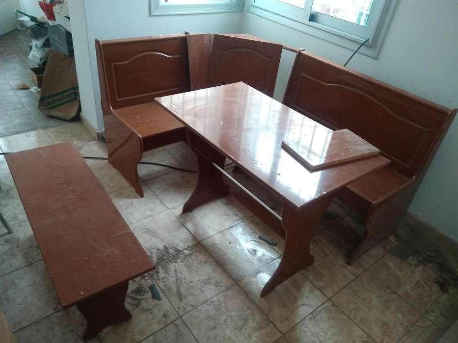 Esquinero de mesa y sillas para <strong>cocina</strong>