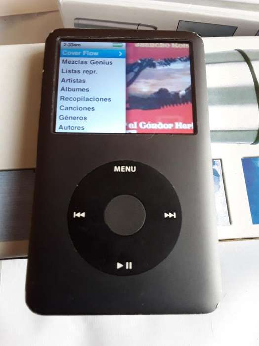 <strong>ipod</strong> Clasic 7g de 160 Gb Cargador Y Mas