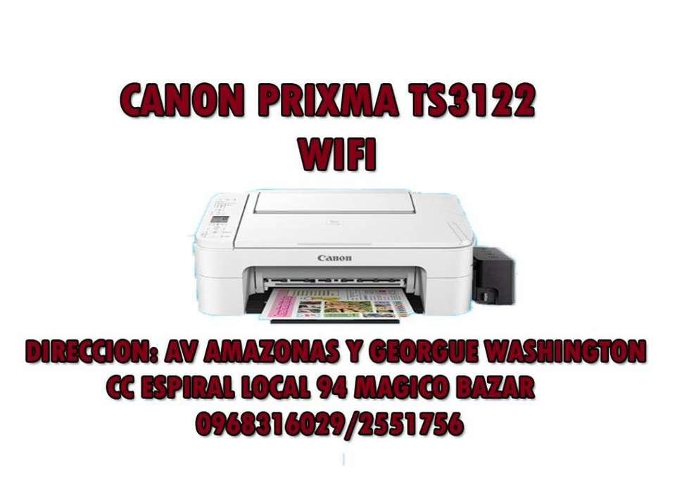 Impresora canon ts 3122 csistema wifi