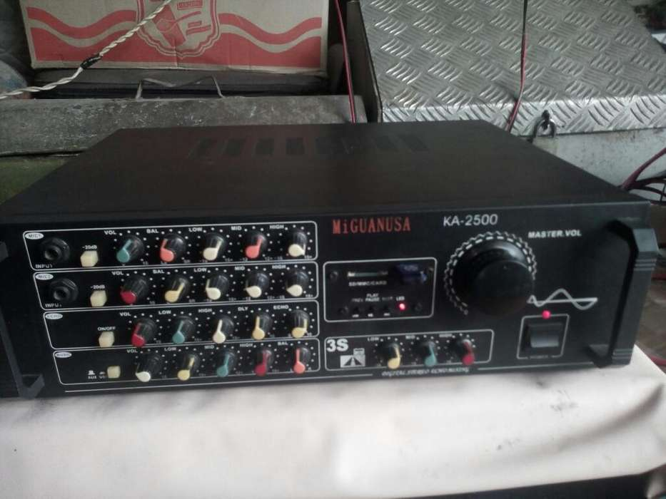 Se Vende Amplificador Miguanusa Ka- 2500