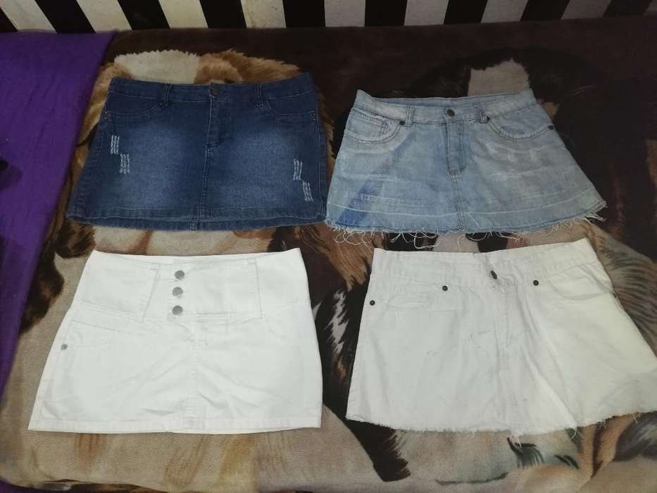 Polleras Jeans 4x500