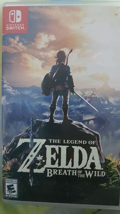 Zelda Breath para Nintendo Switch