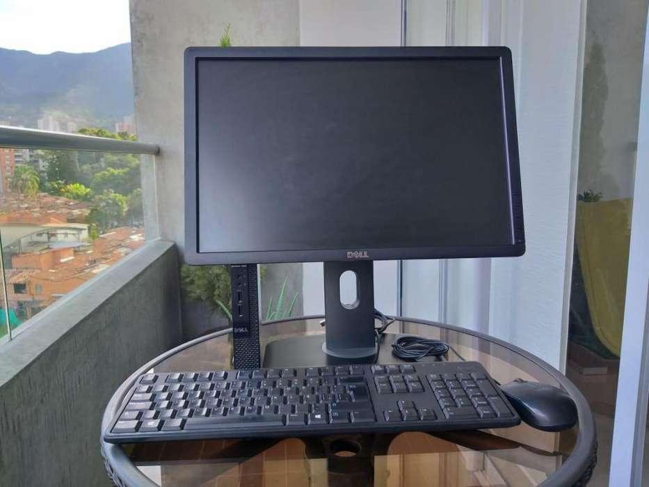 computador DELL con 2GHz de procesador 4GB de memoria RAM