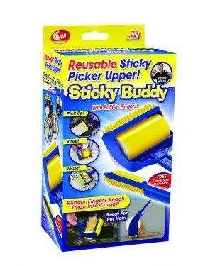 Quita Motas Lanas Pelos Perro Gato Sticky Buddy Reuitlizable