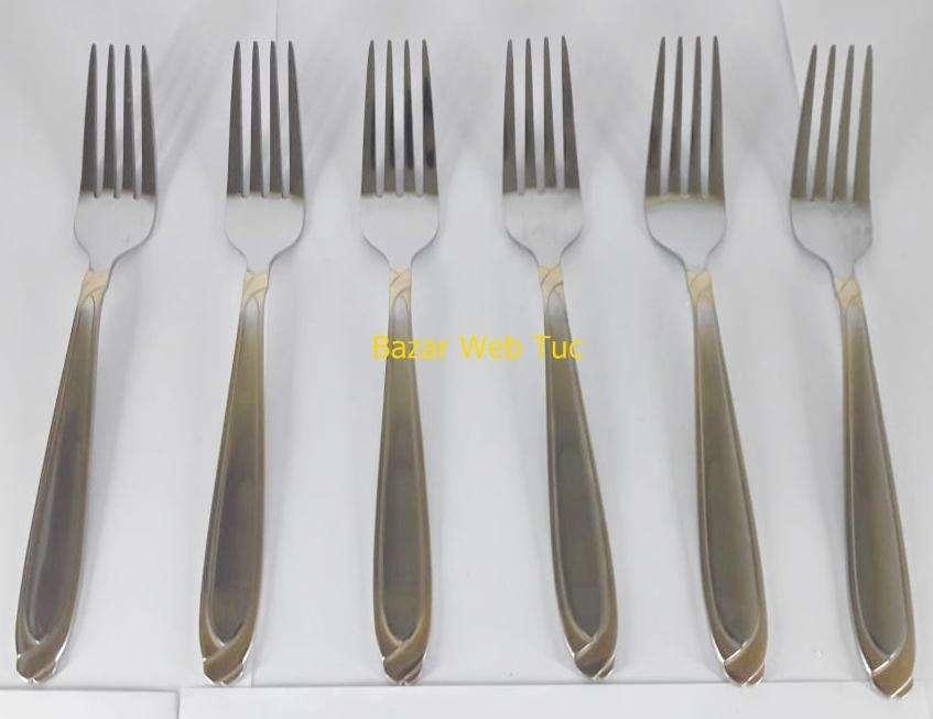 Set de Tenedores Acero inoxidable x3 NUEVAS