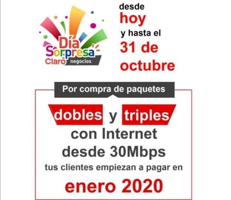 Teléfono, Internet Y Televisión.