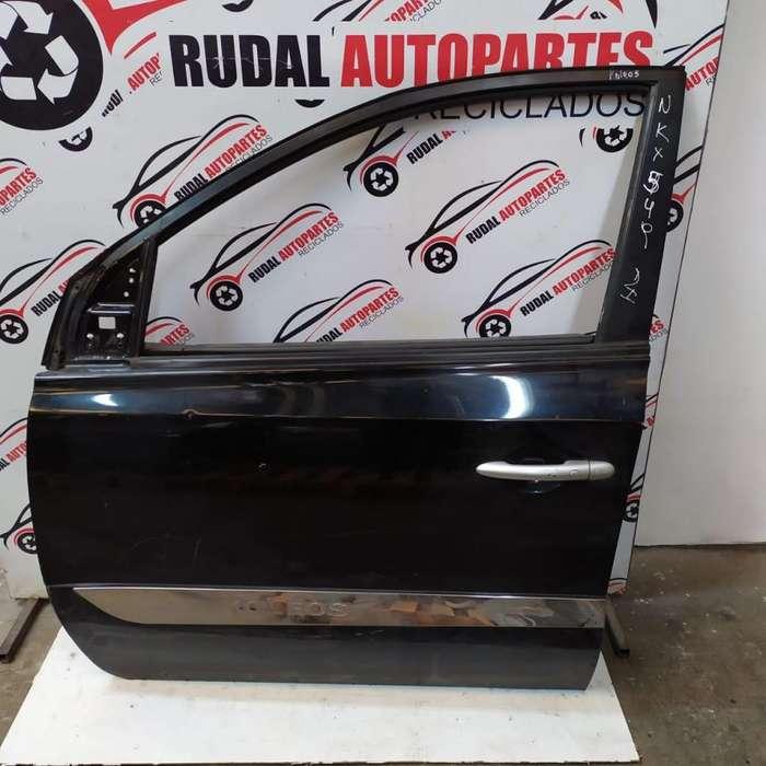 Puerta Delantera Izquierda Renault Koleos 11400 Oblea:02823512