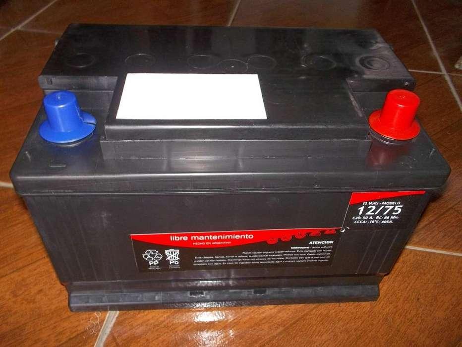 Baterias 12 x75 NUEVAS REACONDICIONADAS, GNC, DIESEL