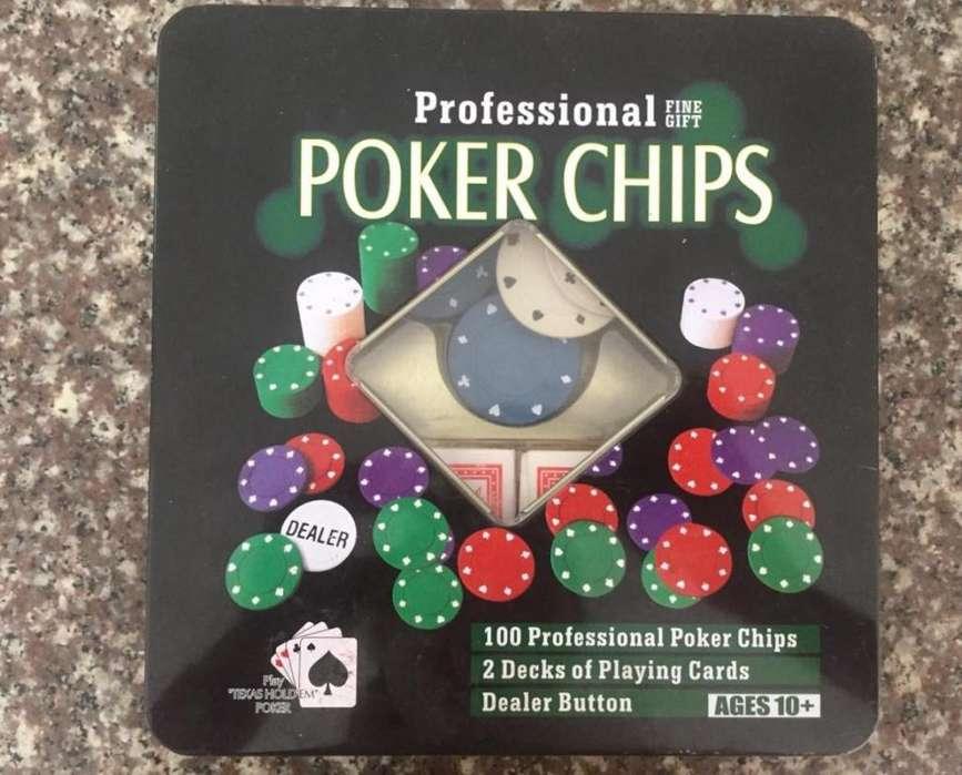 Juego de Poker como NUEVO