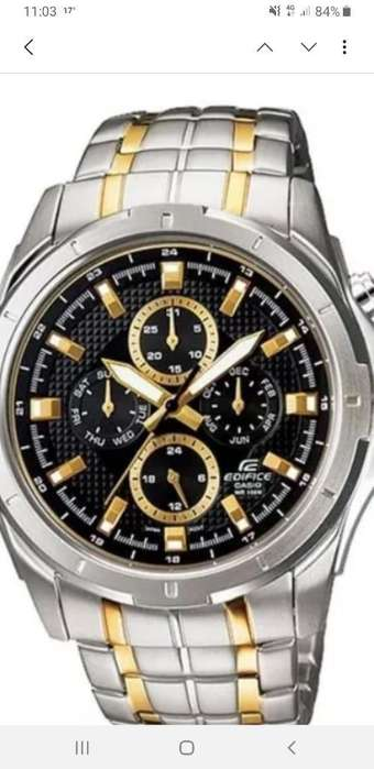 6f85a57120b3 Reloj Casio  strong edifice  strong  Original. Nuevo