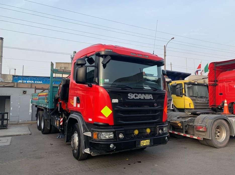 Camion Grua 20tn Scania G460 6X4 Año2014