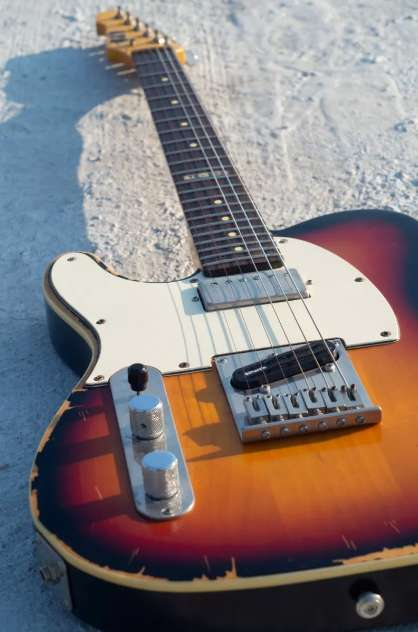 Ltd Telecaster T-212 Relic / Guitarra Para Zurdo