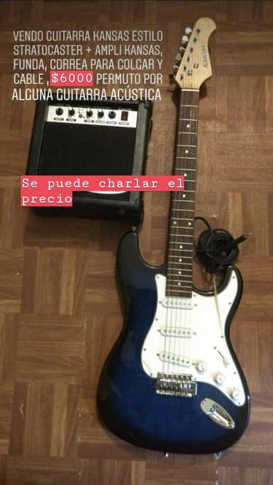 Guitarra Electrica, Ampli, Y Mas