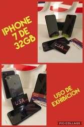 Llegaron iPhone 7 de 32gb uso de exhibicion factura y garantia super precio
