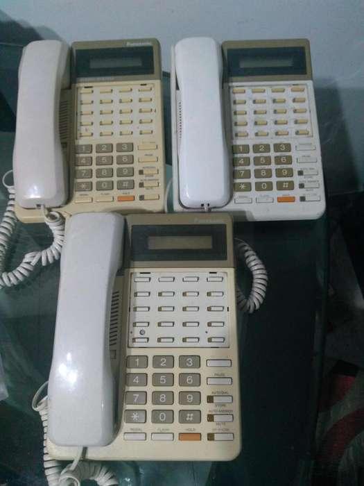 TELEFONO PANASONIC KXT7030 CENTRALES SECRETARIALES
