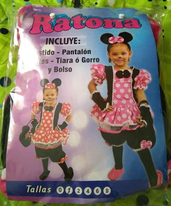 Disfraz de Ratona