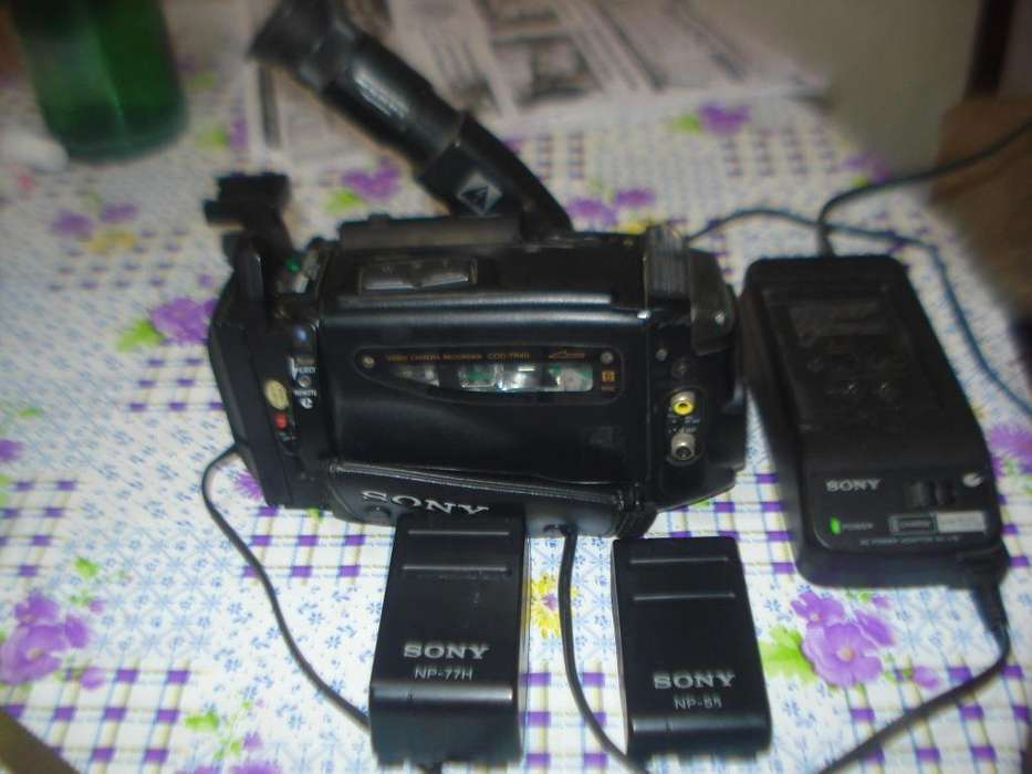 Filmadora Sony Handycam Ccd Tr40 Completa Prende No Funciona