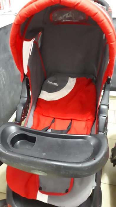 Carrito Cochecito Bebé Infanti,Con Huevito soporte para el auto. Muy Buen Estado
