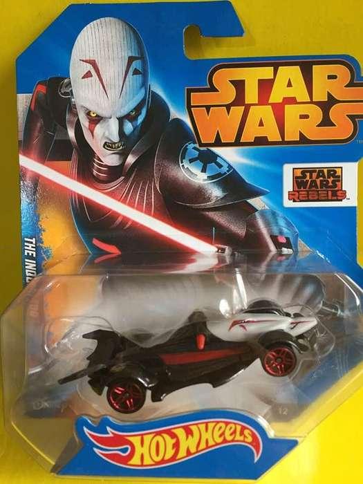 Auto The Inquisitor Star Wars Rebels Hotwheels Modelo a Escala Diecast