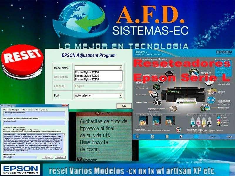 Reset Epson Para Los Modelos Tx,cx, Nx,wf,artisan, Xp Y Más