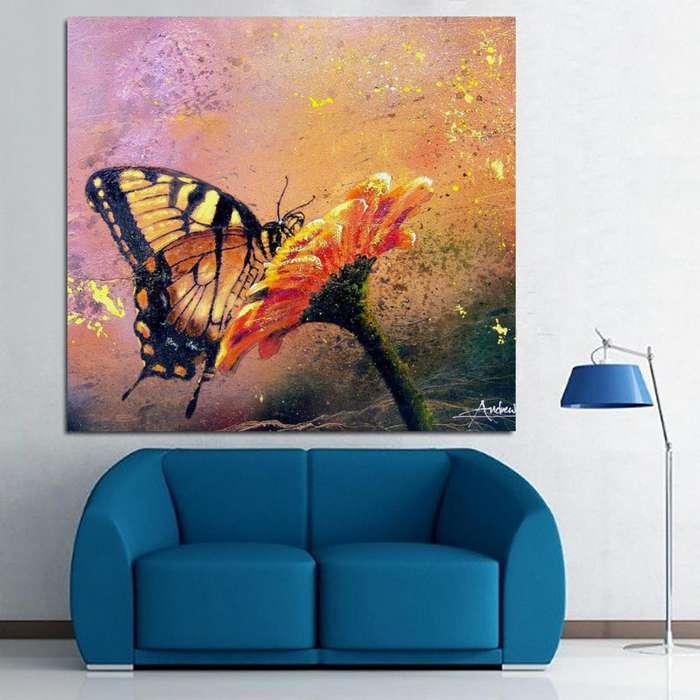 Cuadro de mariposa 1789