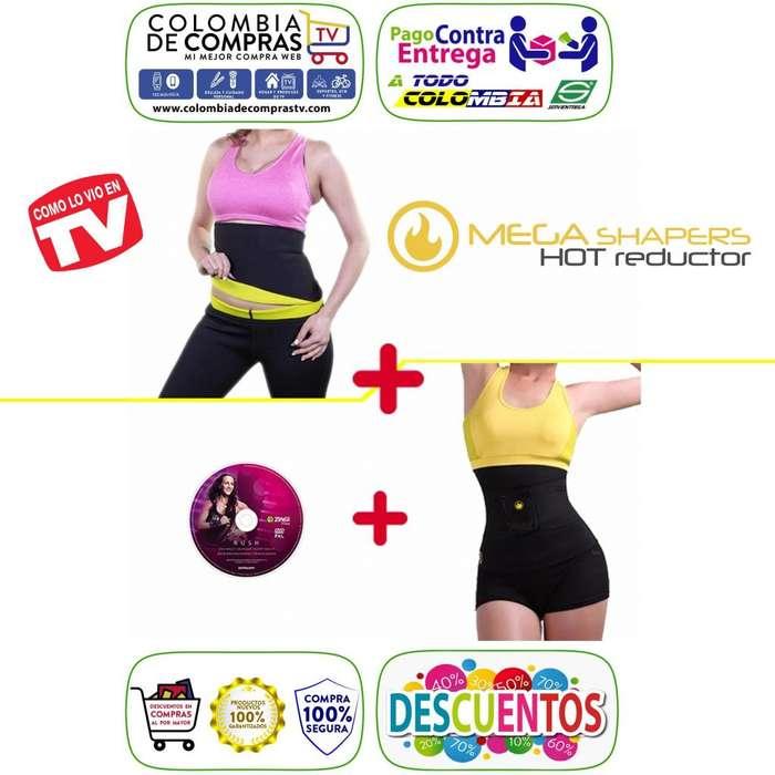 Cinturilla Hot Tv Instant Cintura Avispa Mega Shapers, Nuevos, Originales, Garantizados
